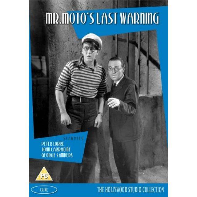 Mr Moto's Last Warning [DVD]